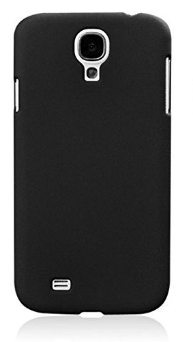 ImagineDesign Rubberised Hard Case For Samsung Galaxy S4 I9500 (Pitch Black)