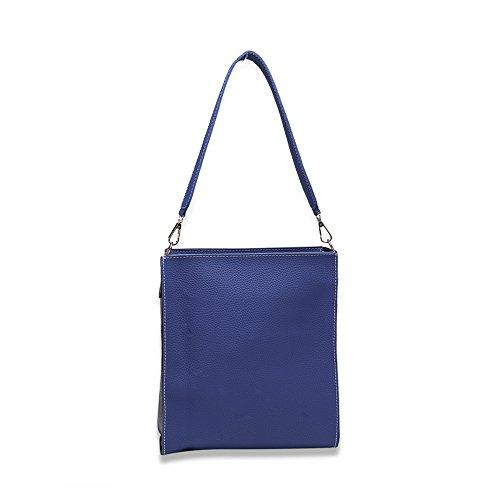 Faysting EU donna fashion borsa a tracolla donna borsa a spalla vari colori scelgliere Hit colore sacchetto di scatola pelle stile buon regalo san valentino A