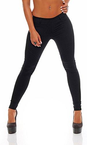 malito tubi jeans classic style pantaloni elasticizzati skinny slim fit Jeggings matita pantaloni Denim sui fianchi Jeans Pantalone sp6006-1donna nero S