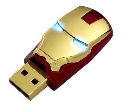 USB2.0 Memoria Flash, Iron Man led Pen Drive Superheroes