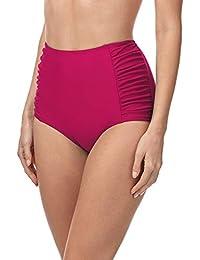 Merry Style Bragas de Bikini Parte de Abajo Bañador Corte Alto Mujer MS10-119