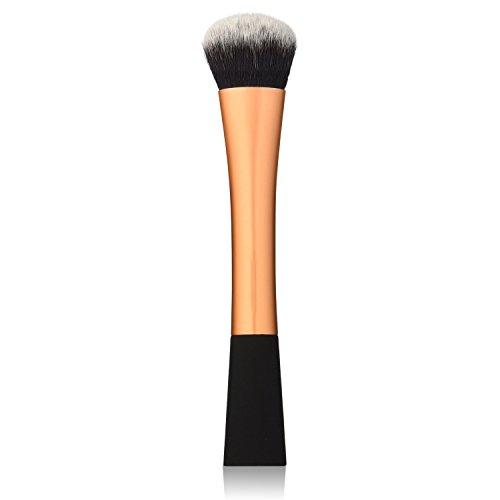 Vococal® Taille Petite Forme Visage Maquillage Brosse En Nylon pour Le Pinceau Concealer/Blush/Maquillage/Or