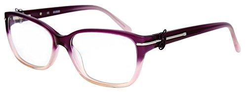 Guess Damen Brillengestell Lila GU2303-PUR-56