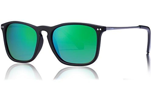 lunettes de soleil Polarized UV400 Sports Lunettes de soleil pour Outdoor Sports Driving Pêche Running Skiing Escalade Randonnée Convient pour les hommes et les femmes Vente bon marché (TJ-023) (A) NPAeOCE