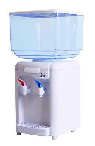 MAXELLPOWER DISPENSADOR DE Agua LIQUIDOS 7 litros con 2 GRIFOS Grifo Frio...