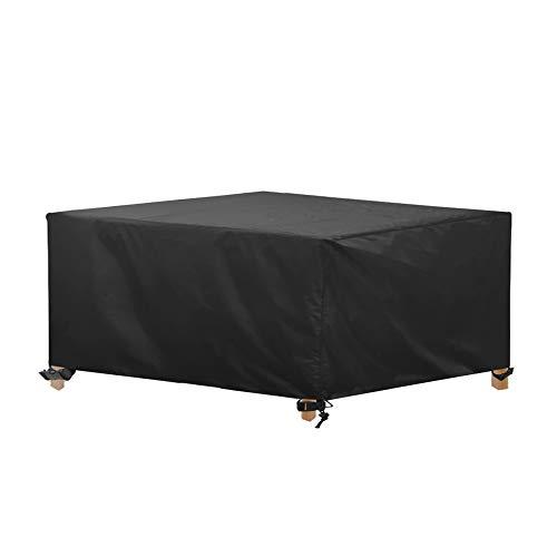 AWNIC Copertura Tavolo da Giardino Grande Telo Copri Tavolo Sedie Mobili Resistente allo Strappo Impermeabile Telo Oxford 245X145X71cm