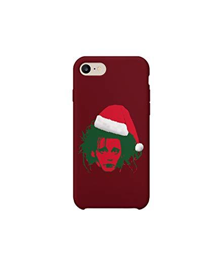 issorhands Christmas Santa Version_R2344 Protective Phone Case Cover Handyhulle Handyhülle Schutz Hülle Kompatibel mit iPhone 7 Plus Lustig Gift Christmas Birthday Novelty ()