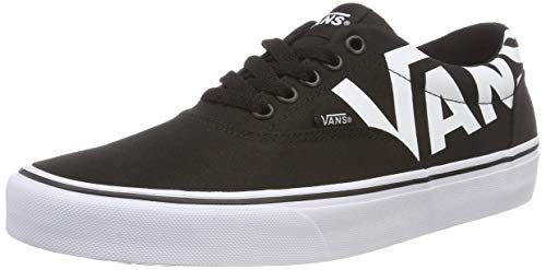 Vans Men's Doheny Low-top Sneakers, (Big Logo) Blackwhite Ryh, 8 Uk
