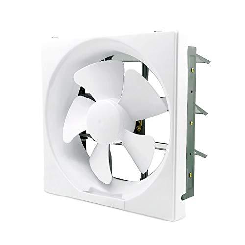 Badlüfter ZHAOSHUNLI Abluftventilator 12-Zoll-Badezimmer-Ventilator-WC-Abluftventilator Wandtyp Starkes Stummschaltung-Quadrat
