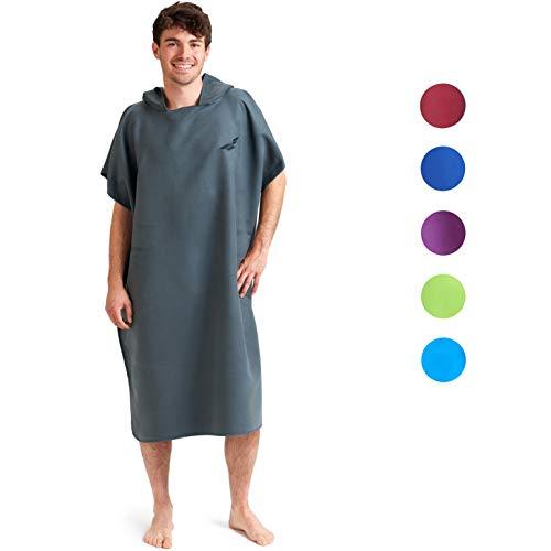 Fit-Flip Vestido de Verano Hombres y Mujeres, Compacto y súper Ligero Color: Gris Oscuro | Tamaño...