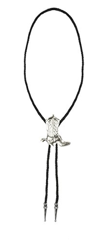 Confettery - Damen Motto-Party Karnevals Kette Western-Lady, Silber (Womens Western Schmuck)