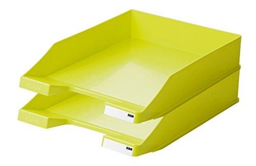 HAN 1027-X-00, Briefablage KLASSIK, Modern, Schick und Hochglänzend, 10er Packung (lemon)