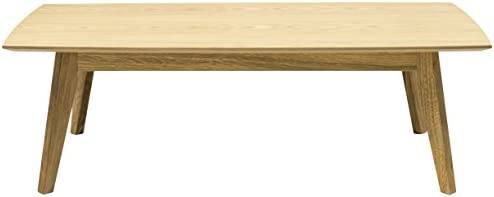 Tenzo 2189-554 bess table basse design 38 x 120 x 60 cm en plaqué chêne