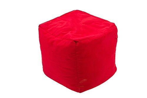Repose-pieds Cube JumboBag Rouge