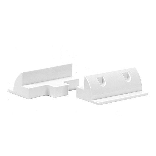 Offgridtec ABS Verbindungs-Spoiler weiß Verbindungsprofile 180mm, 1 Stück, 006535
