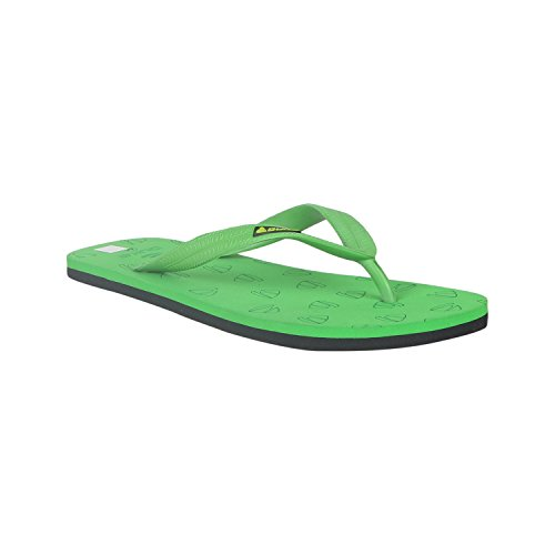 Duke Men's Green & Black Coloured PVC Slippers 6  available at amazon for Rs.250