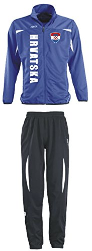 Aprom-Sports Kroatien Trainingsanzug - Sportanzug - S-XXL - Fußball Fitness (S)