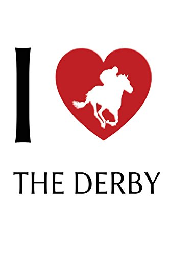 I Love Derby: Notebook | Journal | Diary | 110 Lined Pages