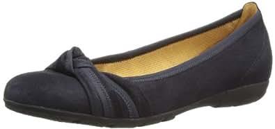 Gabor Shoes Gabor 84.162.16 Damen Ballerinas, Blau (pazifik), EU 35 (UK 2.5) (US 5)