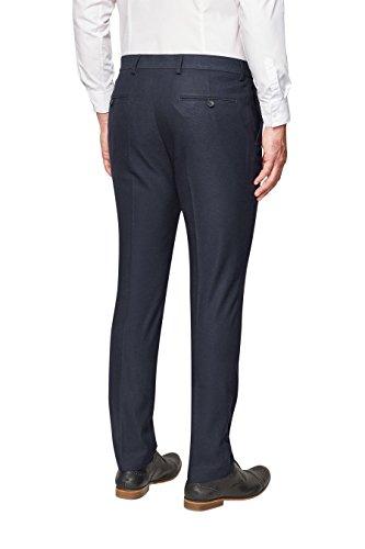 next Homme Pantalon skinny à carreaux coupe standard Bleu