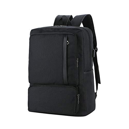 Zhhlaixing Laptop Rucksack Backpack Schultasche Herren - Großer Kapazität und USB Ladeanschluss Computer Rucksäcke Schule Reise Wandern Umhängetasche