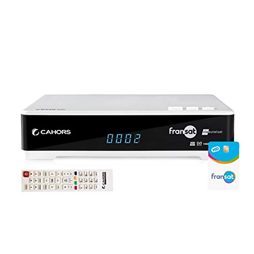 CAHORS VEOX HD 2VA Récepteur Fransat HD + Carte Fransat + 2 x Lecteur de Carte
