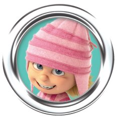 DESPICABLE ME 2, Edith, Officially Licensed, 1.25