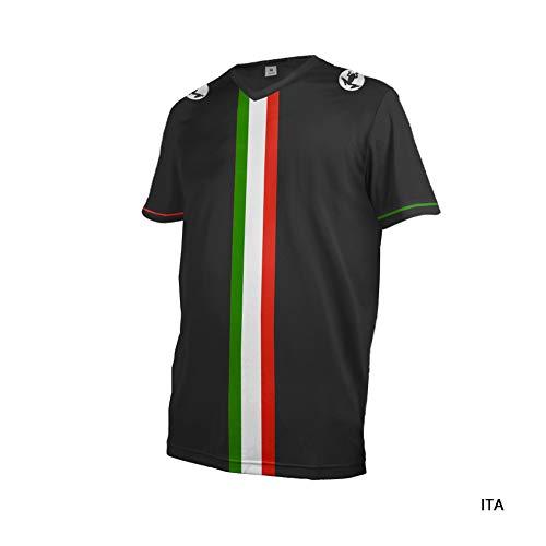 Uglyfrog 2019 Sport Cycling Element MX Jersey Enduro Cross Motorrad Motocross/MTB/Mountain Bike Wear Downhill Rundhals Shirt Herren Sommer/Frühjahr Style DEHerDownMK03