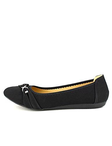 Cendriyon Ballerine Noire LIBRAPOP Chaussures Femme Noir