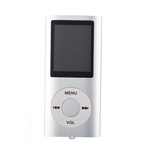 OSYARD MP3 MP4 Player,Medien und Video Player,Portable Digital Musik Player auch als Sprachaufzeichnung/FM-Radio/Video/E-Book-Reader, 1,8 Zoll LCD-Bildschirm Economic MP3 Player,MP4-Player,8-Farben