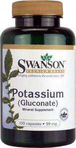 Swanson Potassium (Gluconate) (99mg, 100 Capsules) from Swanson Health Products