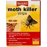 Moth Killer Strips/ Twin Pack by RENTOKIL