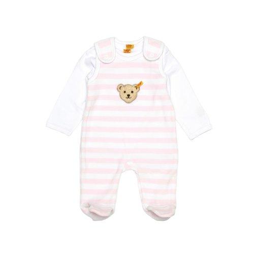 Steiff Unisex - Baby Bekleidungsset Rosa (barely pink ) 56 (Herstellergröße: 56)