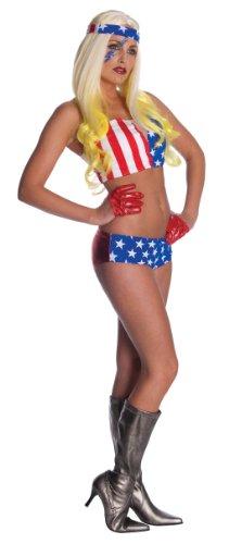 Rubies - Disfraz de Lady Gaga Bandera Americana (889967-STD)