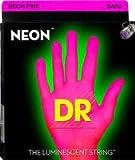 DR NEON HI-DEF NPB5-40 PINK 40-120 Leuchtstoff-Saiten für 5-Saiter-Bass