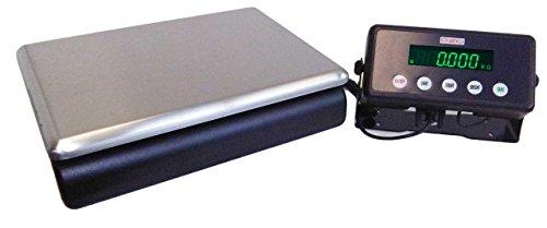 DZD DJ-KP 60kg Plattformwaage SEHR feine 1g & 2g-Schritte Paketwaage Briefwaage