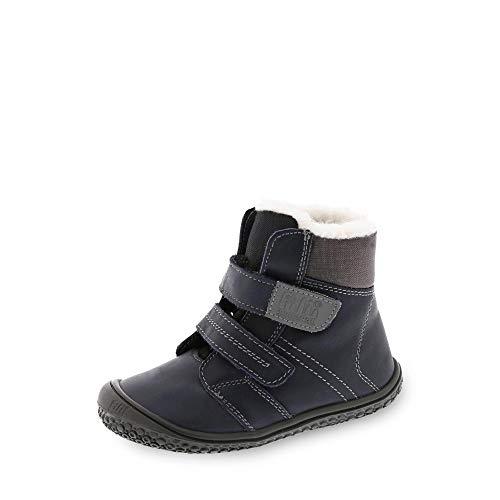 Filii Barefoot Himalaya Velcro Nappa Tex Wool Ocean