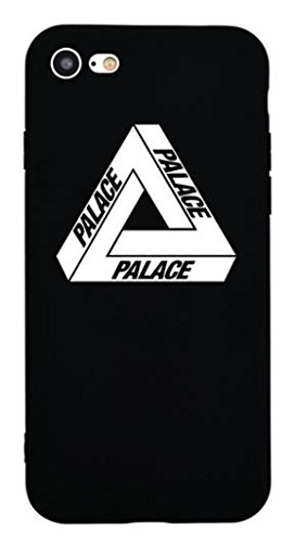 356b6a75699 TN CASES STORE - Carcasa iPhone 6 6S Palace monopatín Rider Negro Silicona  Suave