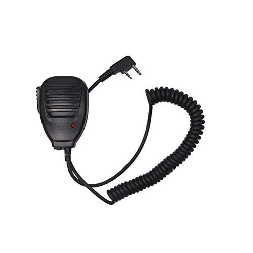 Laduup Baofeng - Microfono Professionale per Altoparlante con Radio, UV-5R, per walkie Talkie