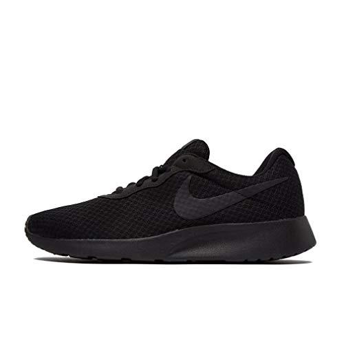 release date 70537 82a72 Nike Tanjun, Baskets Basses Homme, Multicolore - Negro   Gris (Black   Black