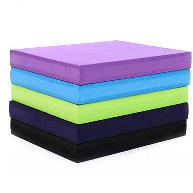 XQDSP TPE Balance Pad Stabilität Rehabilitationsreaktion Physiotherapie Balance Foam Pad Pads Große, Rutschfeste Yoga-Unterlage für Physiotherapie Athletic Conditioning,Black,40 * 35 * 5cm
