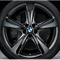Original BMW aluminio Llanta X5 F15 Estrella radios 128 Liquid Black en 21 pulgadas ...