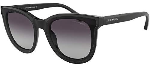 Emporio armani 0ea4125 occhiali da sole, nero (black), 61 donna