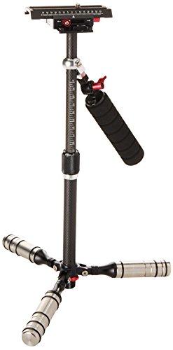 Fotodiox Pro cardán de Fibra de Carbono Handheld Estabilizador de vídeo para cámaras DSLR, MILC & Cámaras GoPro–para pequeñas y Medianas