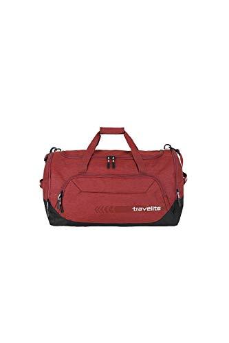 """Travelite Reise- und Sporttaschen \""""KICK OFF\"""" von travelite in 3 Farben: praktisch, robust und auch zum Ziehen Reisetasche, 60 cm, 73 L, Rot"""