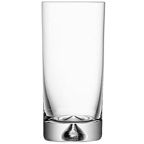 LSA International 325 ml Pyramid Highball, Clear