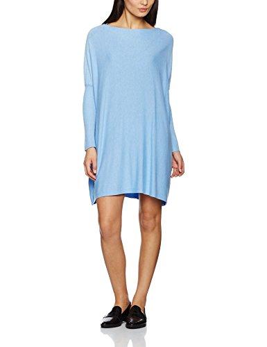TANTRA Wide Knitted Dress, Vestito Donna Blu chiaro