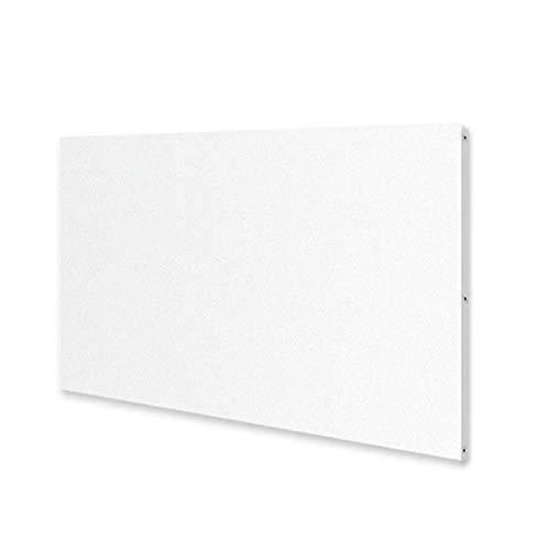 Allpax Infrarotheizung ECO 750 Watt - 120 x 60 cm - Wand- und Deckenmontage - Räumgrößen: 9-11 m² - 5 Jahre Garantie - Made in Europe - optional mit Thermostat