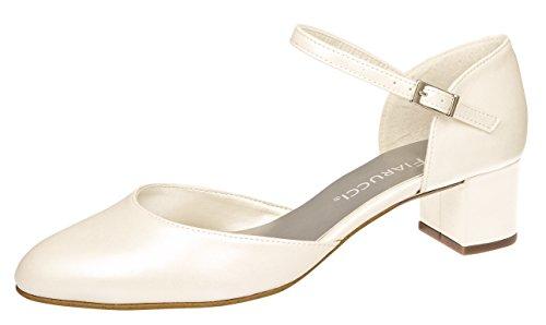 Elsa Coloured ShoesFairy Queen - Scarpe con Tacco Donna Avorio (Avorio)