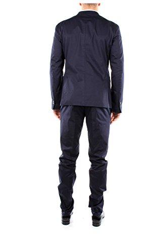 S74FT0198S41338524 Dsquared2 Costumes Homme Coton Bleu Bleu